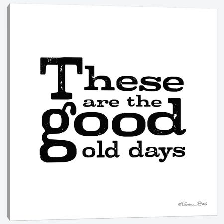 These are the Good Old Days 3-Piece Canvas #SUB7} by Susan Ball Canvas Artwork