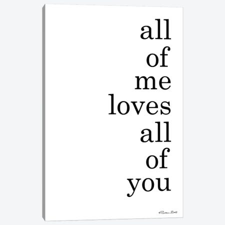 All Of Me Canvas Print #SUB80} by Susan Ball Canvas Art