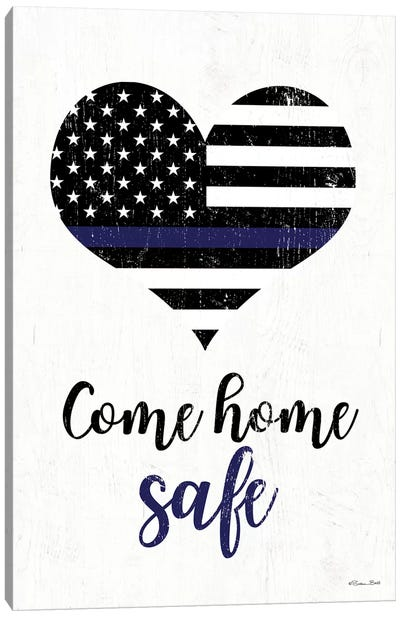Come Home Safe Canvas Art Print
