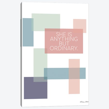 Anything But Ordinary Canvas Print #SUB88} by Susan Ball Canvas Wall Art