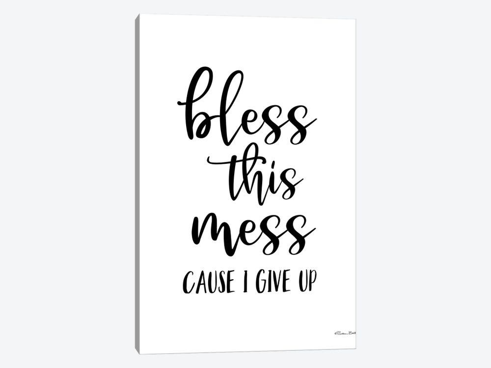 Bless This Mess by Susan Ball 1-piece Canvas Wall Art