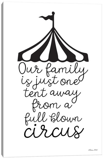 Our Family Circus Canvas Art Print