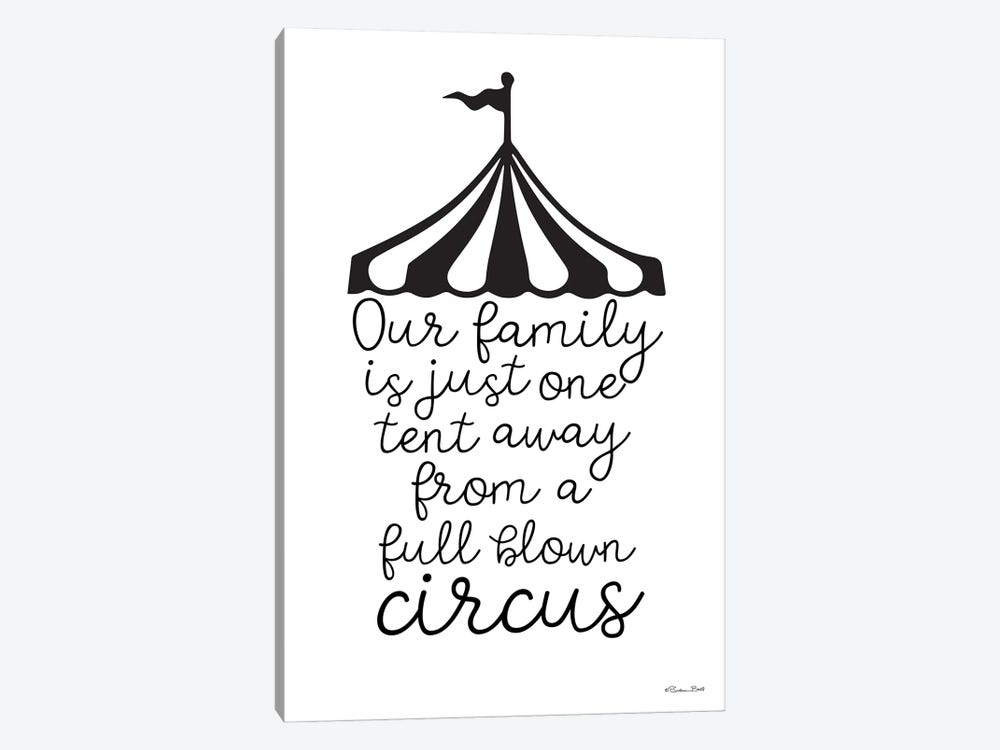 Our Family Circus by Susan Ball 1-piece Art Print