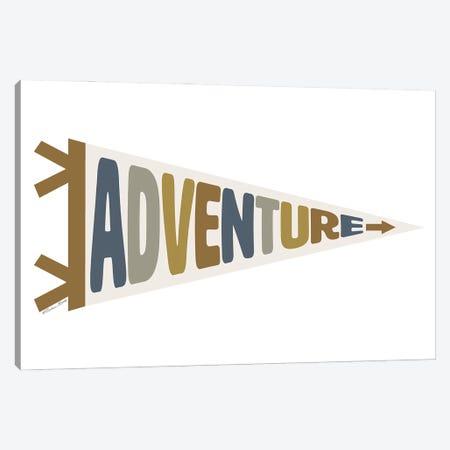 Adventure Pennant Canvas Print #SUB99} by Susan Ball Canvas Print