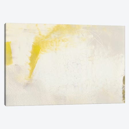 Yellow Lux II Canvas Print #SUE106} by Sue Jachimiec Canvas Artwork