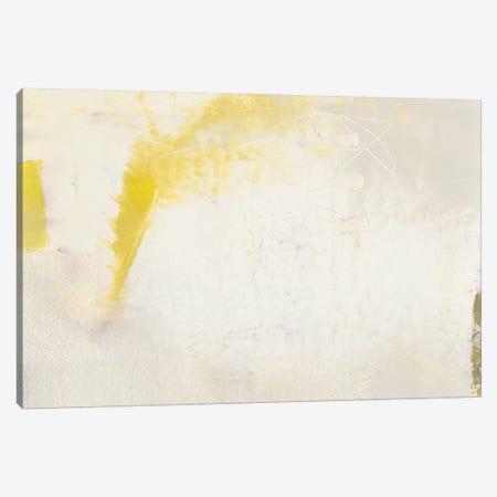 Yellow Lux II Canvas Print #SUE106} by Sue Jachimiec Canvas Artwork