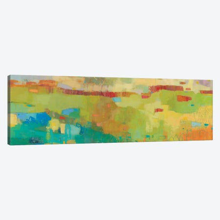 Elysium IV 3-Piece Canvas #SUE124} by Sue Jachimiec Canvas Artwork