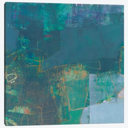 Demesne I Canvas Print #SUE127} by Sue Jachimiec Canvas Wall Art