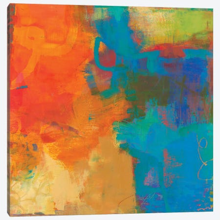 Olio Canvas Print #SUE131} by Sue Jachimiec Canvas Artwork