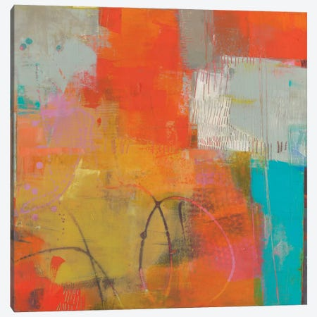 Oren II Canvas Print #SUE133} by Sue Jachimiec Canvas Artwork