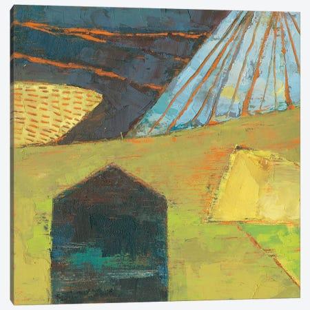 Bear Valley Barn I Canvas Print #SUE148} by Sue Jachimiec Canvas Art Print
