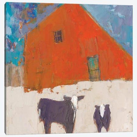 Hazel Barn Canvas Print #SUE163} by Sue Jachimiec Canvas Print