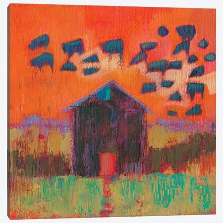 Kasten Barn Canvas Print #SUE164} by Sue Jachimiec Canvas Art