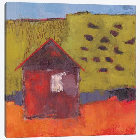 Oosburg Barn Canvas Print #SUE167} by Sue Jachimiec Canvas Artwork