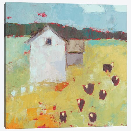 Potosi Barn Canvas Print #SUE169} by Sue Jachimiec Canvas Art Print