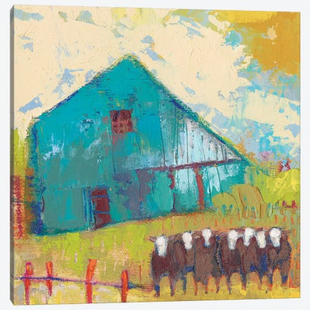 Request Barn 3-Piece Canvas #SUE171} by Sue Jachimiec Canvas Artwork