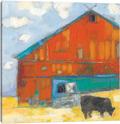 Schullsburg Barn Canvas Art Print