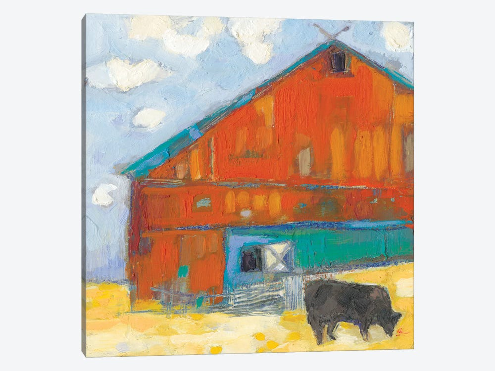 Schullsburg Barn by Sue Jachimiec 1-piece Art Print