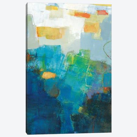 Air 3-Piece Canvas #SUE175} by Sue Jachimiec Canvas Art Print