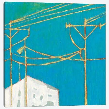 Fon Barn IV Canvas Print #SUE188} by Sue Jachimiec Canvas Art Print