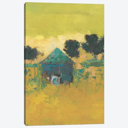 Keezletown Barn Canvas Print #SUE189} by Sue Jachimiec Art Print