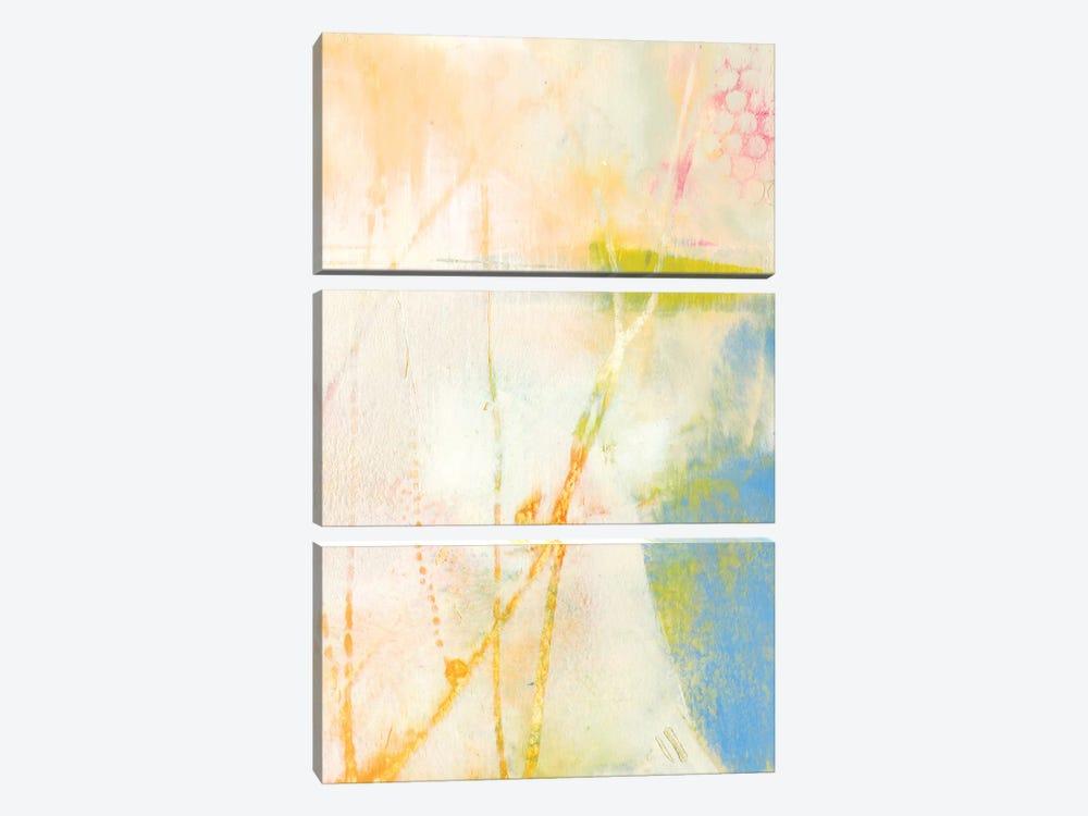 Pastel Lux II by Sue Jachimiec 3-piece Canvas Print