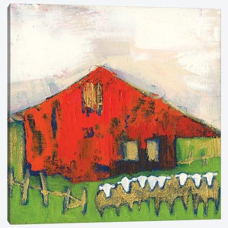 Rice Barn Canvas Print #SUE190} by Sue Jachimiec Canvas Art