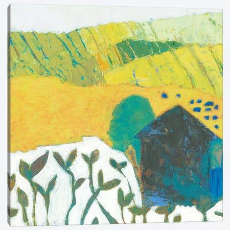 Wyandotte Barn II Canvas Print #SUE196} by Sue Jachimiec Canvas Print