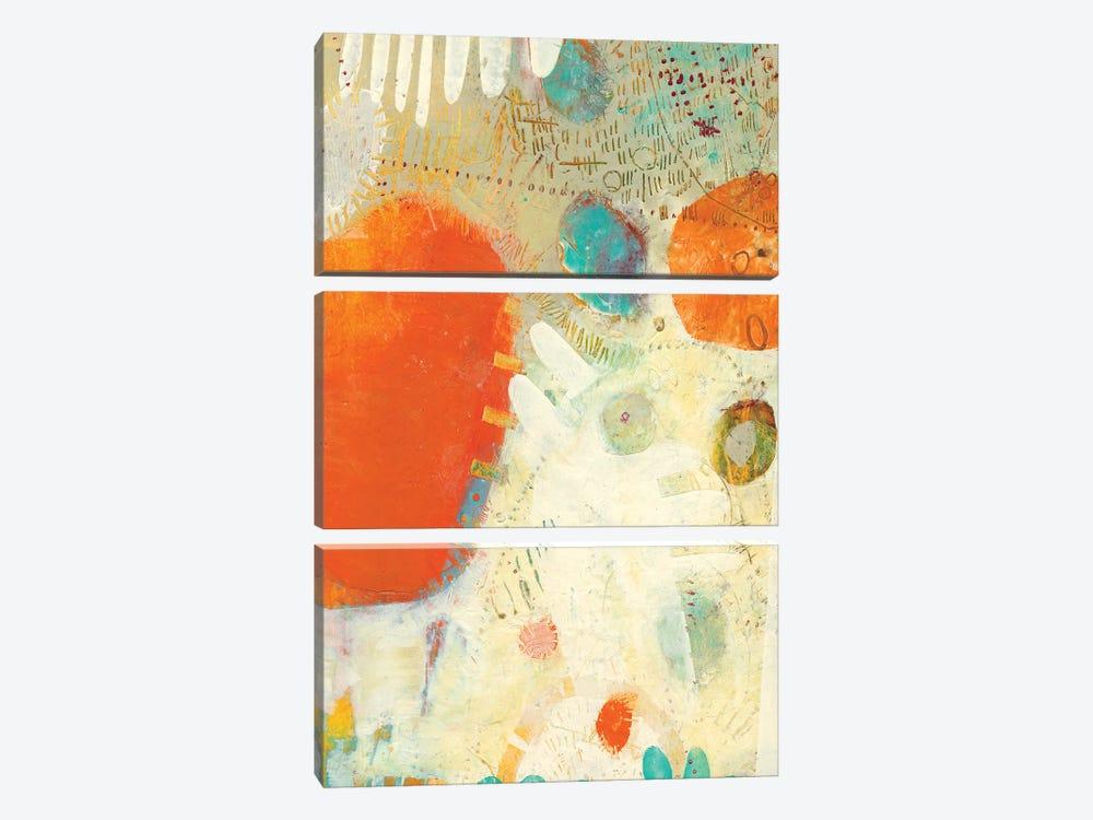 Phenix I by Sue Jachimiec 3-piece Canvas Wall Art
