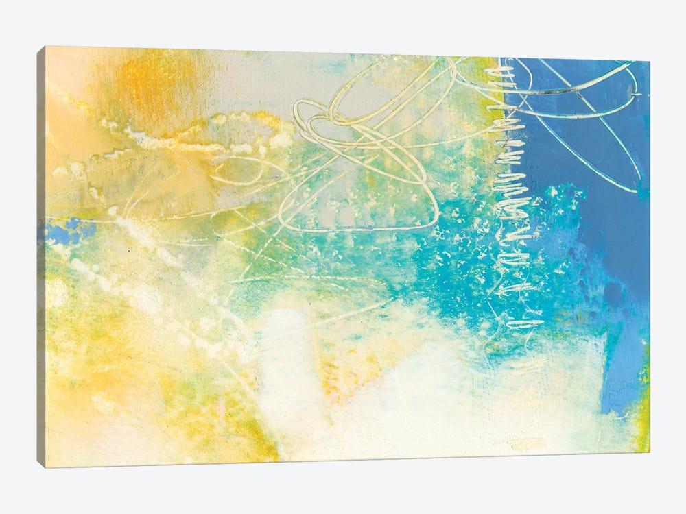 Blue Lux I by Sue Jachimiec 1-piece Canvas Wall Art
