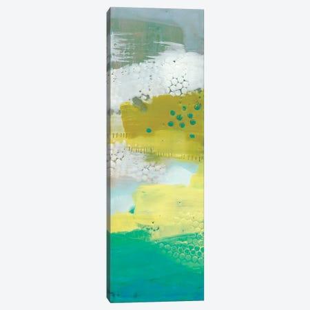Teal Dot Panels III Canvas Print #SUE28} by Sue Jachimiec Canvas Art Print