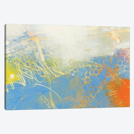 Blue Lux II Canvas Print #SUE2} by Sue Jachimiec Canvas Wall Art