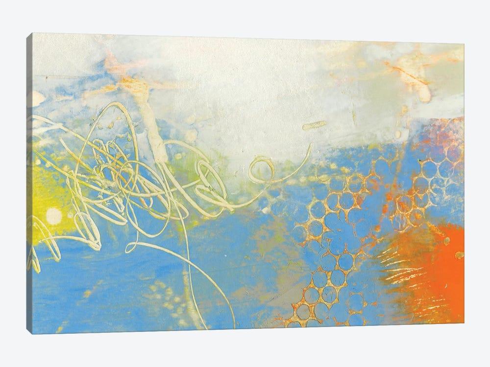 Blue Lux II by Sue Jachimiec 1-piece Canvas Print