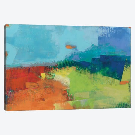 Yardland II Canvas Print #SUE33} by Sue Jachimiec Canvas Art
