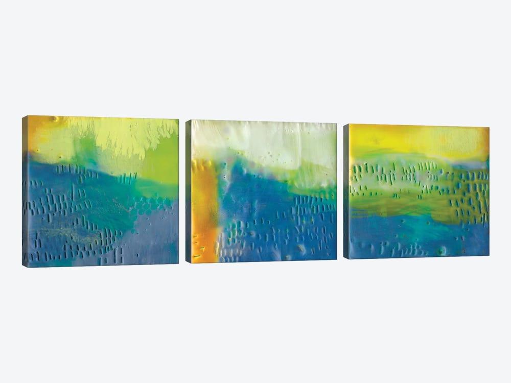 Southern Shores Triptych by Sue Jachimiec 3-piece Canvas Print