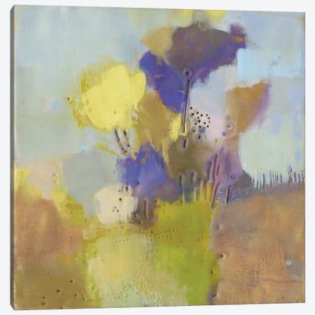 Blume V Canvas Print #SUE61} by Sue Jachimiec Canvas Art Print