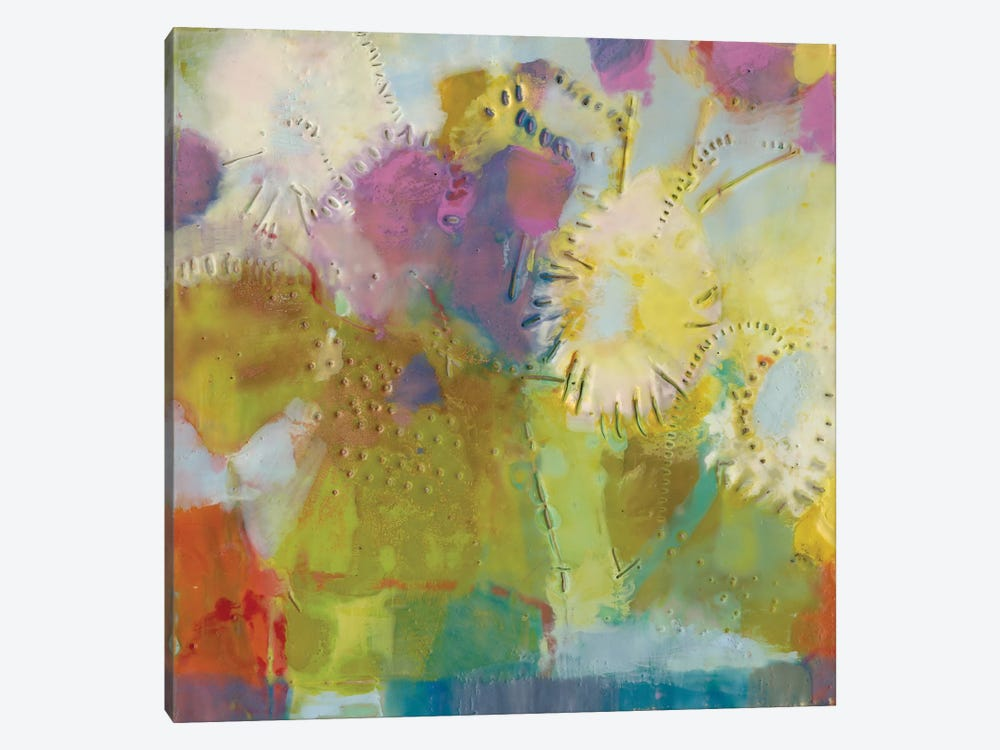 Floare II by Sue Jachimiec 1-piece Canvas Art
