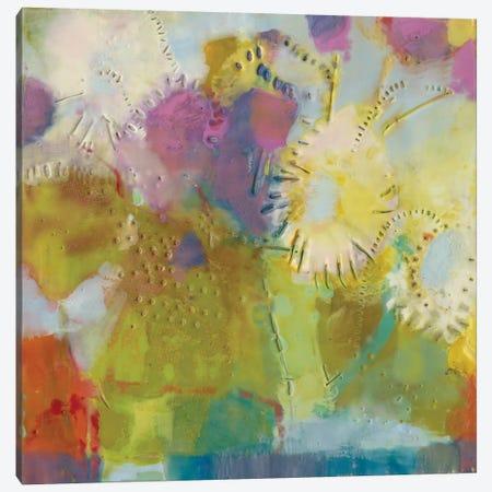 Floare II Canvas Print #SUE68} by Sue Jachimiec Canvas Art Print