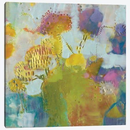 Floare III Canvas Print #SUE69} by Sue Jachimiec Canvas Print