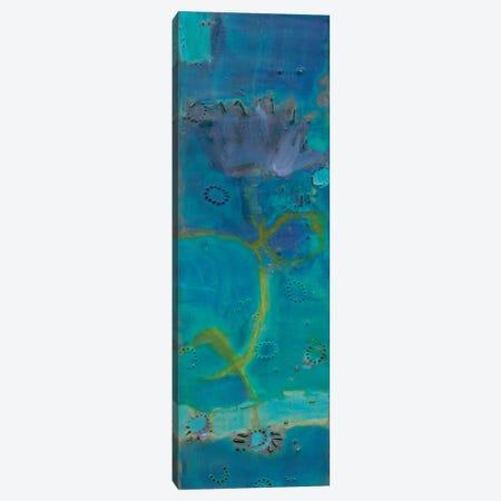 Reedy Blue III Canvas Print #SUE81} by Sue Jachimiec Canvas Art Print