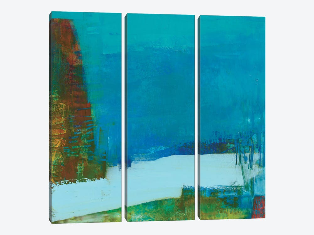 Hey Day I by Sue Jachimiec 3-piece Canvas Art