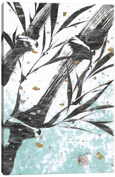 Kyoto's Garden I Canvas Art Print