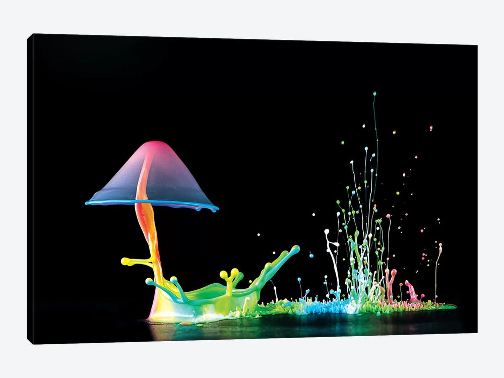 Symphony Of Colors by Suwandi Lim 1-piece Art Print