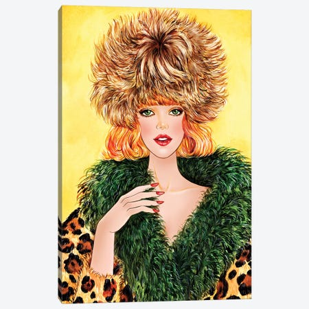 Cozy Sonia Rykiel Canvas Print #SUN10} by Sunny Gu Canvas Print