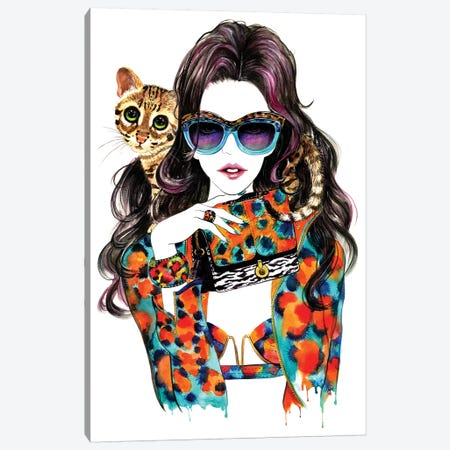 Kenzo Canvas Print #SUN20} by Sunny Gu Canvas Artwork