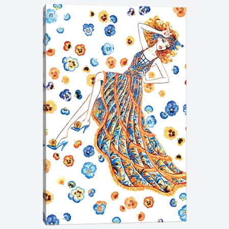 Let Me Dream II, Versace Canvas Print #SUN24} by Sunny Gu Canvas Print
