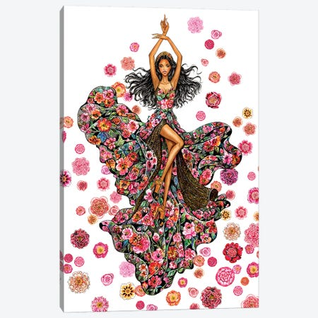 Let Me Dream, Elie Saab Canvas Print #SUN25} by Sunny Gu Canvas Print