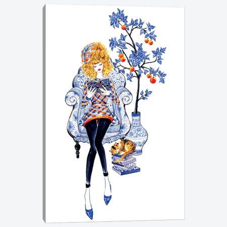 Lifestyle, Junya Watanabe 3-Piece Canvas #SUN26} by Sunny Gu Canvas Art Print