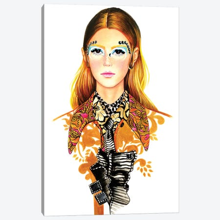 Miu Miu Canvas Print #SUN27} by Sunny Gu Canvas Art Print
