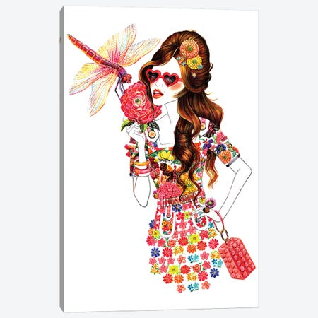 Moschino Canvas Print #SUN28} by Sunny Gu Canvas Art
